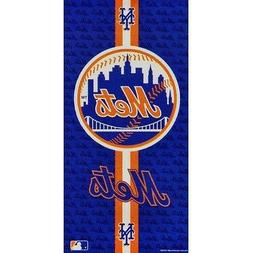 "NWT MLB New York Mets Wincraft 30"" X 60"" Pool Beach Dorm Tow"