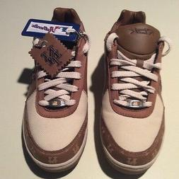 Reebok NY Mets Mens Sz 6 1/2 New Leather/Canvas Shoes / Snea