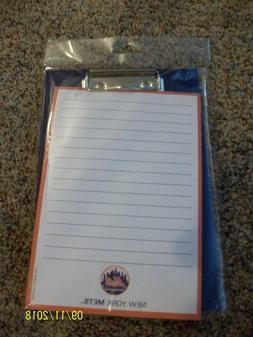 NY Mets small clipboard & notepad