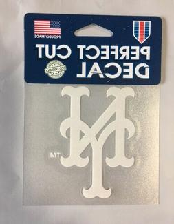 "NY New York Mets 4"" x 4"" Team Logo Truck Auto Car Window Die"