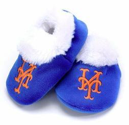NY New York Mets Baby Bootie Slippers Infant Children Kids B