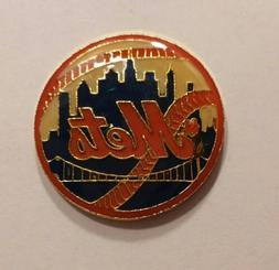 OFFICIAL LAPEL PIN TEAM LOGO NEW York NY METS Shea Stadium b