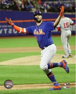 Pete Alonso 2019 New York Mets Authentic 8x10 Photo #4