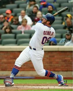 Pete Alonso 2019 New York Mets Authentic 8x10 Photo #2