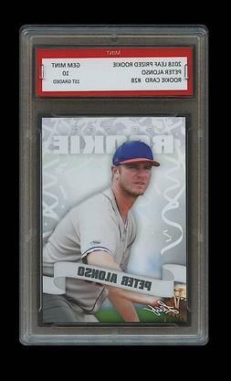PETER ALONSO 2018/18 LEAF PRIZED 1ST GRADED 10 ROOKIE CARD R