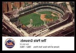 Postcard - Polo Grounds, Home of the New York Mets,   Unused