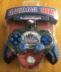 Rare PlayStation PS2/1 GamePad Controller New York Mets MLB
