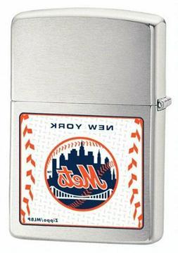 Retired MLB New York Mets Zippo Lighter