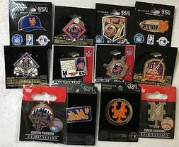 Set of 12 New York Mets Logo Collector Pins BLOWOUT PRICE