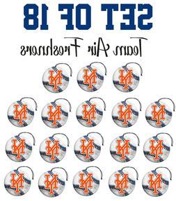 Set of 18 New York Mets Team Helmet Car Vehicle Room Cave Ai