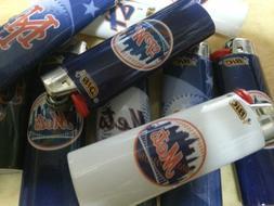 SET OF 4 BIC FULL SIZE Lighters New York Mets MLB LIGHTERS