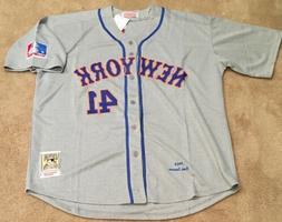 Tom Seaver New York Mets Retro Throwback Jersey Mens XL NWT