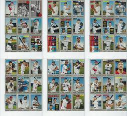 Topps Heritage Baseball 2019 Base Cards  Free US Shipping!