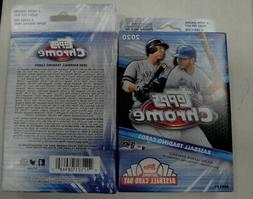 TWO  Factory Sealed 2020 Topps Chrome Hanger Boxes  40 cards