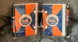 Two Notebook And Pen Set Of New York Mets NBL  Baseball