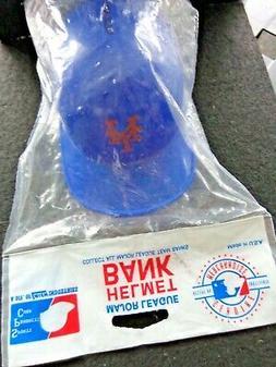 Vintage MLB New York Mets Coin Helmet Bank 1 Coin Bank Helme