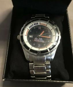 New York Mets VIP Exclusive Edition Stainless Steel Watch Se