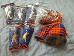 NY Mets Winter Fur Trapper Hats and Yoenis Cespedes Shin Gua