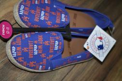 Women's New York Mets Baseball Sneakers Genuine Major League